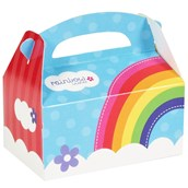Rainbow Wishes Empty Favor Boxes