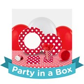 Red and White Dots Party in a Box