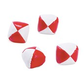 Red & White Toss Balls (12)