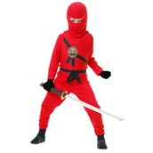 Red Ninja Kids Costume