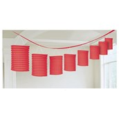 Red Paper Lantern Garland