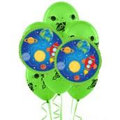 Rocket To Space 8 pc Balloon Kit
