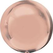 """Rose Gold Foil Orbz (16"""")"""