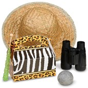 Safari Animal Adventure Filled Favor Box (4-Pack)