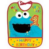 Sesame Street 1st - 1st Birthday Bib