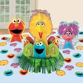 Sesame Street 1st Birthday - Centerpiece