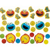 Sesame Street 1st Birthday Confetti