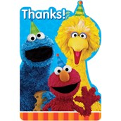 Sesame Street 2 -  Postcard Thank You (8)