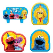 Sesame Street Candle Set (4)