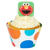 Sesame Street Cupcake Wrapper & Pick Kit