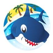 Shark Dinner Plates