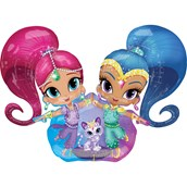 Shimmer and Shine AirWalker Foil Balloon