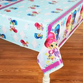 Shimmer & Shine  Plastic Tablecover 54 x 84