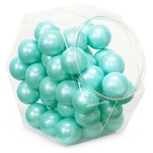 Shimmer Turquoise Gumballs