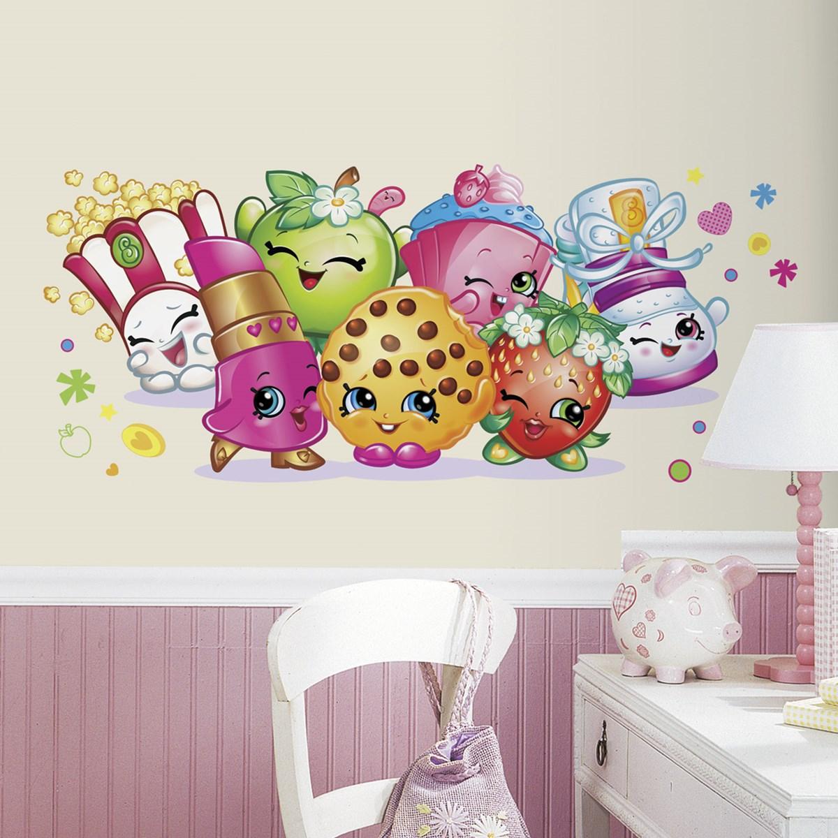 shopkins giant wall decal  birthdayexpresscom -