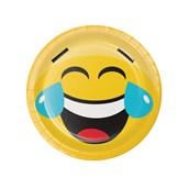 "Show Your Emojions 7"" Dessert Plates (8)"