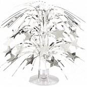 Silver Star Mini Cascade Centerpiece