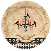 Skull Mansion Dinner Plates