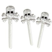 Skull Picks (12) - Cake Picks