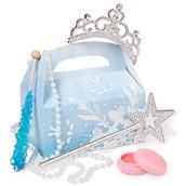 Snowflake Winter Wonderland Party Favor Box (4-Pack)