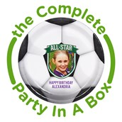 Soccer Personalized Party in a Box
