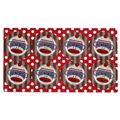 Sock Monkey Red Small Lollipop Sticker Sheet