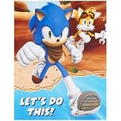 Sonic Boom Invitations