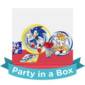 Sonic the Hedgehog Party in a Box For 16