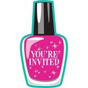 Spa Party Birthday Party Invitations (8)