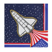 Space Mission Lunch Napkins (16)