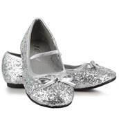 Sparkle Ballerina Shoes (Silver) Child