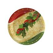 Sparkling Christmas Dessert Plate (8)