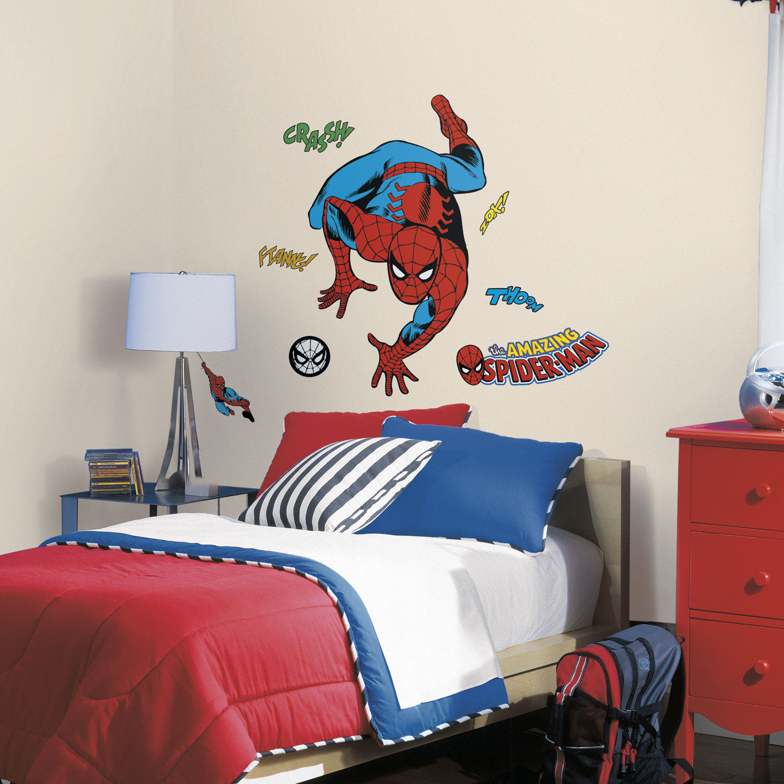 Spider Man Comic Wall Decals Birthdayexpresscom