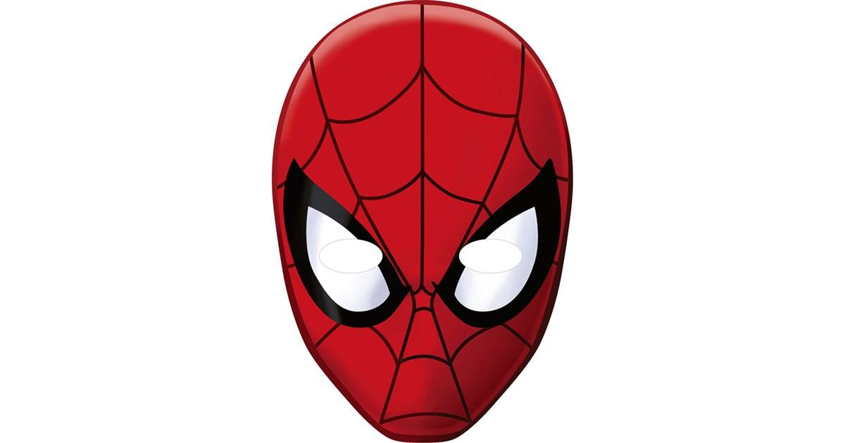 Spiderman Paper Masks   BirthdayExpress.com