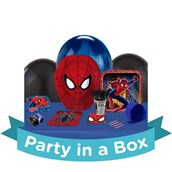 Spiderman Party in a Box For 8