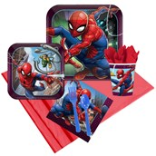 Spiderman Webbed Wonder 16 Guest Party Pack