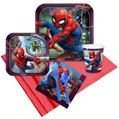Spiderman Webbed Wonder 24 Guest Party Pack