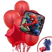 Spiderman Webbed Wonder Balloon Bouquet