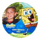 SpongeBob Personalized Dinner Plates