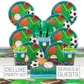 Sports 8 Guest Party Pack