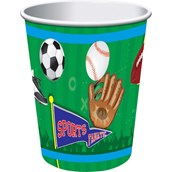 Sports Party 9oz Cups (8)