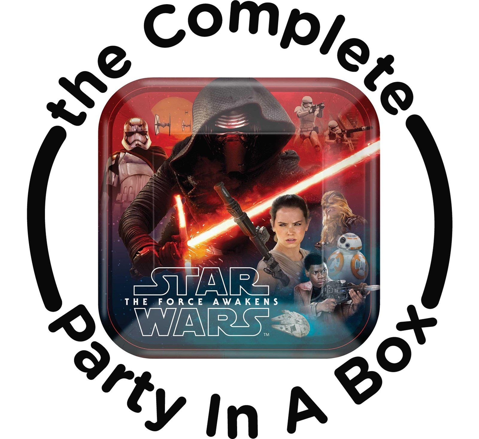 Star Wars The Force Awakens Party in a Box