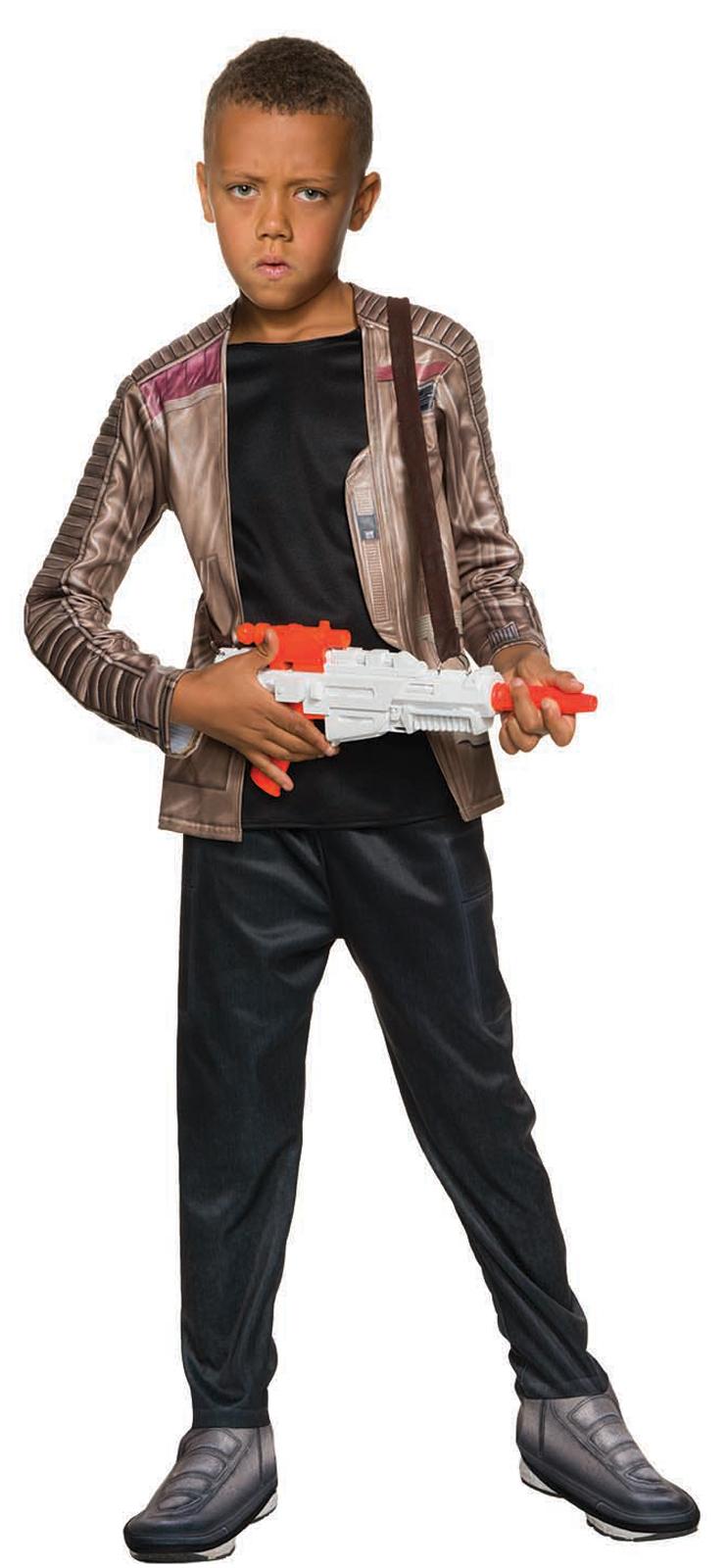 star wars the force awakens boys deluxe finn costume