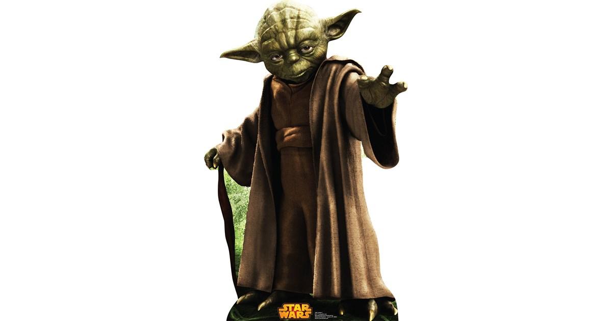 star wars yoda standup