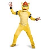 Super Mario Bros: Deluxe Bowser Costume For Boys
