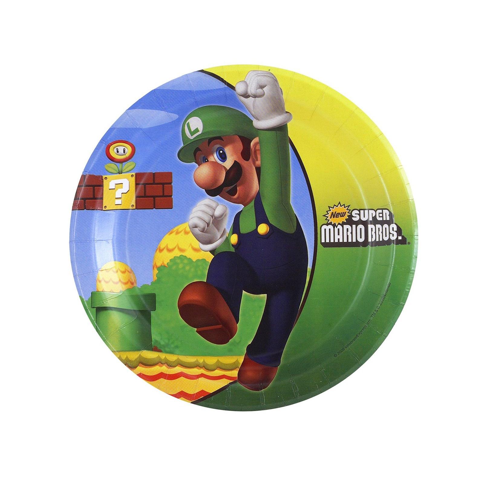 Super Mario Dessert Plates