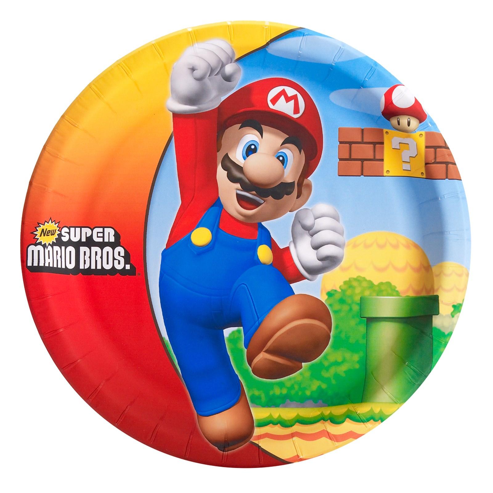 Super Mario Dinner Plates