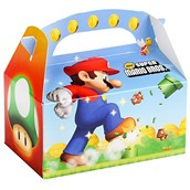 Super Mario Bros. Empty Favor Boxes