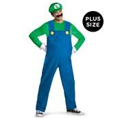 Super Mario Bros - Luigi Plus Size Costume