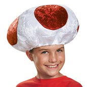 Super Mario Bros: Red Mushroom Hat For Children